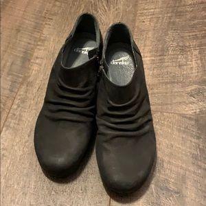 Dansko wedge booties size 39